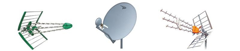 antenas de televisión