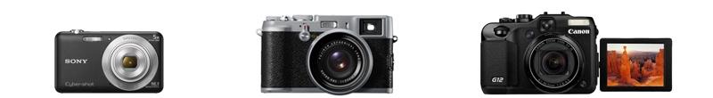 banner cámaras de fotos