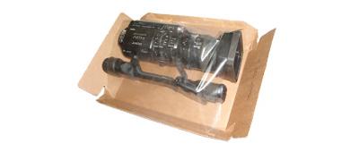 video cámara en paquete NACEX